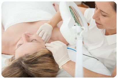Photo of Katherine Spiric experienced qualified Australian Electrologist Sydney Nicolsons Electrolysis Clinics for Permanent Hair Removal Treatments Methods Permanently Remove Get Rid of Unwanted Hairs Face Body Best Prices Reviews